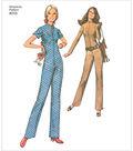 Simplicity Pattern 8255 Misses\u0027 Vintage Jiffy Jumpsuit-Size D5 (4-12)