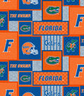 Florida Gators Fleece Fabric-College Patch