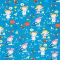 Super Snuggle Flannel Fabric-Girl Scientist