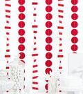 Cheer & Co. 13 pk 6\u0027 Party Backdrops-Red