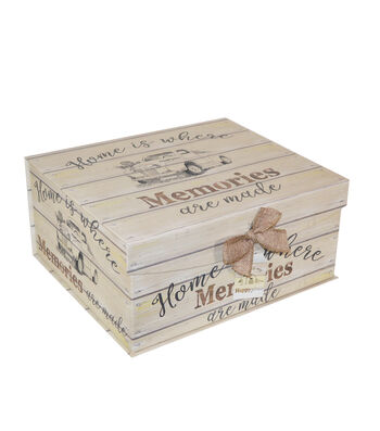 Organizing Essentials Large Fliptop Storage Box-Farmhouse Sentiments