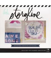 Heidi Swapp Storyline Deck of Days-Motivational, , hi-res