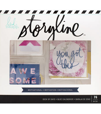 Heidi Swapp Storyline Deck of Days-Motivational