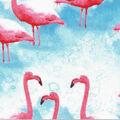 Novelty Cotton Fabric- Flamingos
