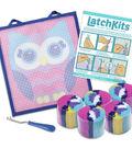 LatchKits Mini Rug Craft Kit-Owl