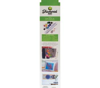 Leisure Arts Diamond Art Intermediate Kit 12''X12''-Rainbow Tree