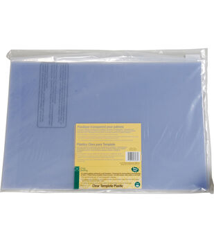 """Dritz Quilting 12"""" x 18"""" Template Plastic Value Pack 3 Sheets"""