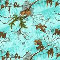 Realtree Flannel Fabric-Seaglass