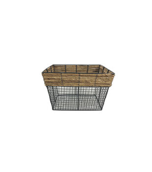 Small Square Metal Wire Basket