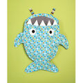Kwik Sew Pattern K0224 Shark, Panda & Monster Laundry Bags