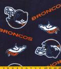 Denver Broncos Fleece Fabric 58\u0027\u0027-Tossed