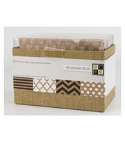 DCWV A2 Box of cards and envelopes: Burlap, , hi-res