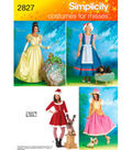 Simplicity Pattern 2827-Misses & Dog Costumes