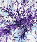 Spring Sheen Stretch Chiffon Fabric 55\u0022-Floral Burst