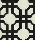 Home Decor 8\u0022x8\u0022 Fabric Swatch-Waverly Groovy Grille Licorice