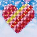 Diamond Dotz Kit-Patchwork Heart