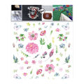 Decorprint Textil Transfer Fabric Iron-on Sheet-Floral Design