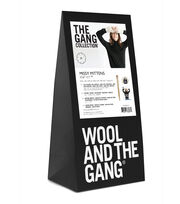 Wool And The Gang Missy Mittens Knit Kit-Ivory White, , hi-res