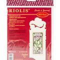 RIOLIS 2.25\u0027\u0027x6.25\u0027\u0027 Counted Cross Stitch Kit-Bookmark Blooming Iris