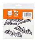 DCWV Halloween Bling Décor-Bling Bats