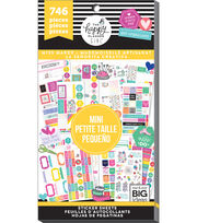The Happy Planner Girl Value Pack Stickers-Miss Maker Mini, , hi-res