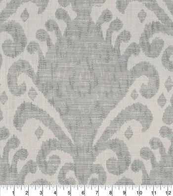 Jaclyn Smith Multi-Purpose Decor Fabric 54''-Platinum Ikat