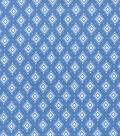 Wide Flannel Fabric -Blue Diamond