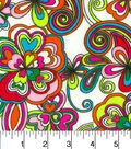 Snuggle Flannel Fabric -Kaleidescope Bright