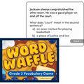 Edupress Word Waffle Game, Grade 3, Pack of 2