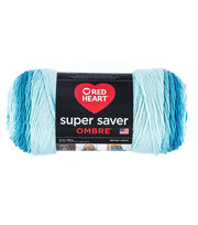 Red Heart Super Saver Ombre Yarn, , hi-res