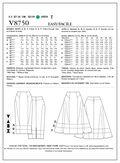 Vogue Patterns Misses Skirt-V8750