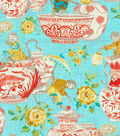 Dena Upholstery 8x8 Fabric Swatch-Monkey Jars/Sundance