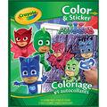 Crayola Color`n Sticker Book-PJ Masks