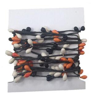 Maker's Halloween Pepperberry Roping-Black, White & Orange