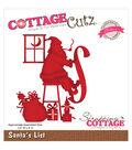 CottageCutz Elites Die-Santa\u0027s List