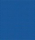 Basics Patterned Cardstock 12\u0022X12\u0022-Dark Blue Small Dot