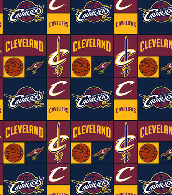 Cleveland Cavaliers Cotton Fabric 44''-Patch