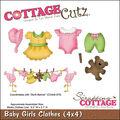 CottageCutz Die Baby Girl Clothes
