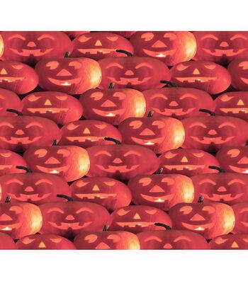 Halloween Cotton Fabric-Jack-o'-lanterns