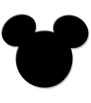 EK Success Medium Disney Punch-Mickey Icon