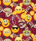 Florida State University Seminoles Cotton Fabric 43\u0027\u0027-Emoji