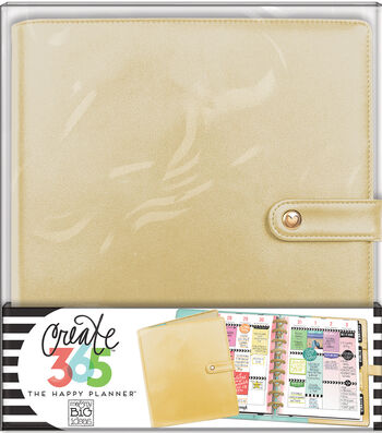 The Happy Planner Classic Deluxe Cover Planner-Gold