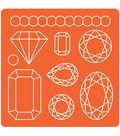 Plaid Mod Podge Gems Mod Molds