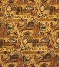 Home Decor 8\u0022x8\u0022 Fabric Swatch-Upholstery Fabric Barrow M7954 5389 Rustic
