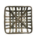 Simply Spring Craft Wood & Metal Decor-Rustic Basket