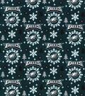 Philadelphia Eagles Flannel Fabric-Holiday