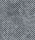 Quilter\u0027s Flannel Fabric 43\u0022-Dots Gray