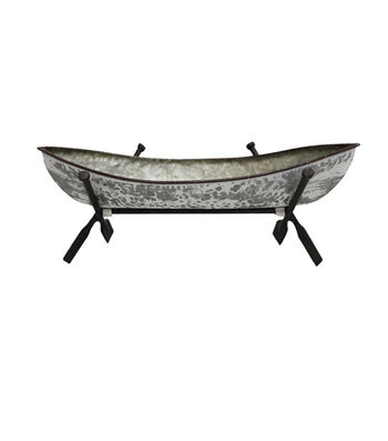 Camp Ann Galvanized Canoe