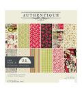 Authentique Double-Sided Cardstock Pad 6\u0022X6\u0022 24/Pkg-Nostalgia