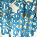 Home Decor 8\u0022x8\u0022 Fabric Swatch-Genevieve Gorder Flower Pops Peacock
